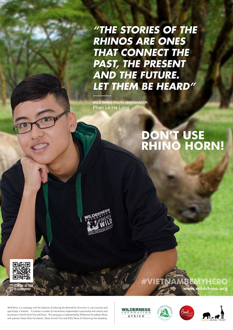 Wild Rhino 2018 Ambassador - Phan Le Ha Long - LR
