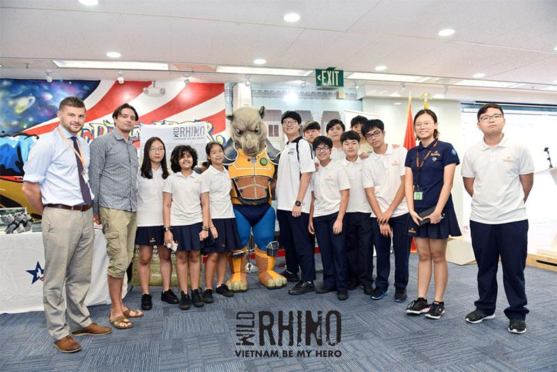 Youth Ambassadors Speak For Rhino In HCMC