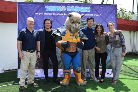 Mr Matthew Norval, Mr Thanh Bui, Rhino Ranger, Peter le ha Long, Ms Cheryl Reynolds and Ms Almut Roessner